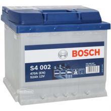 Аккумулятор Bosch S4 Silver 52Ah