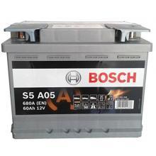 Аккумулятор Bosch S5 AGM 60Ah
