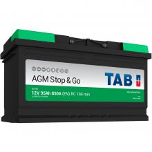 АКБ TAB Ecodry AGM 213090, 95Ah