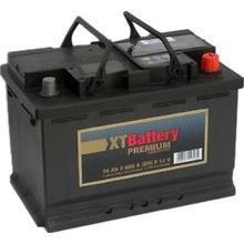 Аккумулятор XT PREMIUM 74Ah