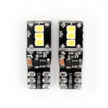 Светодиодная лампочка Carlamp Canbus 9-24В 200Лм 6000К 3G9-T10(W5W)-W