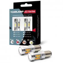 Светодиодная лампа Carlamp 4G-Series P21W 4G21/1156 Желтый