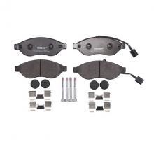 Тормозные колодки перед. Jumper/Ducato/Boxer 06- (1.1-1.5t)